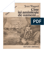Jean Raspail - Cine Isi Aminteste de Oameni