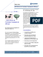 Led Driver de Corriente Constante Supertex