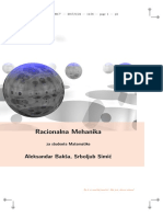 Racionalna mehanika za studente matematike - A. Baksa, S. Simic.pdf