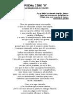 Poema Cero