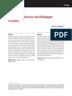 Mediação Técnica Latour e Heiddger