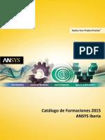 Catalogo de Formaciones ANSYS 2015