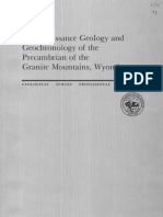 Precambrian Geology of Granite Mountains