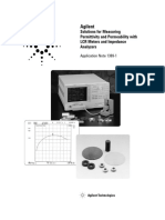 Solutions for Measuring Permittivity and Permeability With LCR Meters and Impedance Analysers
