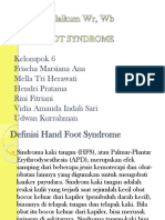 PPT Hand Food Syndrom