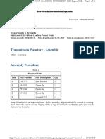 Transmission Planetary - Assemble 966g