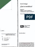 170376627 Que Es Metafisica HEIDEGGER