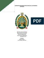 IDENTIFICACIÓN Y DESCRIPCION ANATOMO HISTOLÓGICA DE LOS ÓRGANOS LINFOIDES