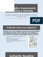 summative auth resources