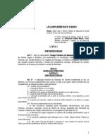 Lei Complementar 070 2001 Cogido Tributario Do Municipio de Sarandi