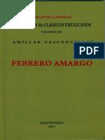 Febrero Amargo Amilcar Vasconcellos