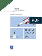 LaserPen Manual English