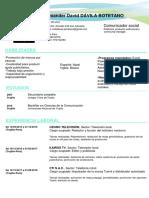 CV Documentado