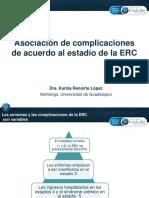 Asociacion de Complicaciones de Acuerdo Al Estadio de La Erc
