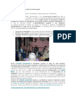 Terapia Ocupacional en Intervención Grupal