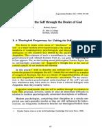 Leído. Unidad y Plotino. Integrating the Self Through the Desire of God Robert Innes
