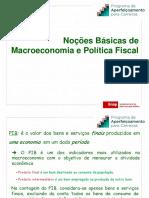 14875885911 - Noções Básicas de Macroeconomia e Política Fiscal