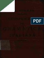Libro Antiguo - Gramatica Italiana