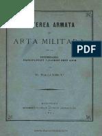 N. Balcescu - Puterea Armata si Arta Militara de la Intemeierea Principatului Valahiei si pana acum