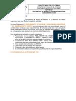Actividad 4 Reglamento de Higiene y Seguridad Industrial Guía Para Desarrollar