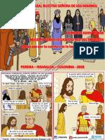 HOJITA EVANGELIO NIÑOS DOMINGO CRISTO REY DEL UNIVERSO B 18 SERIE