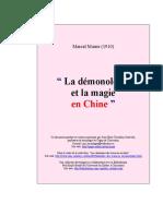 Marcel Mauss - La démonologie et la magie en Chine.pdf