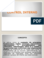 Presentaciòn Control Interno