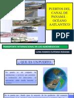 Puertos Del Canal de Panamá- Océano Atlántico