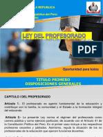 Ley Del Profesorado Pptwcc