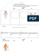 connect student organ systems graphic organizer