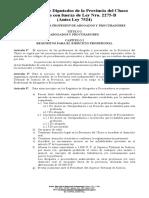 Ley Regulatoria Ejercicio de La Abogacia