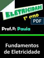 Aula 01 Fundamentos Da Eletricidade Energia 1
