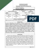 Programa Asignatura Udo anz 0082814 Matemc3a1ticas III Ciencias