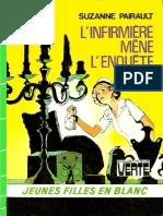 Suzanne,Pairault-[Jeunes Filles en Blanc-14]L'Infirmière Mène l'Enquête, L'