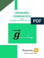 Responde aí - Cinemática.pdf