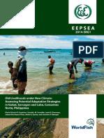 Climate Change Study Livelihood Gubat