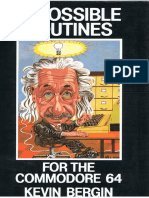 (Ebook - Commodore Computers) Impossible Routines For The c64.pdf