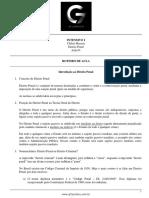 Roteiro de aula - aula 01 - Introdução ao Direito Penal.pdf