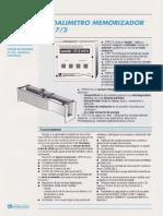 Caudalimetro Memorizador - DPN7-2_esp