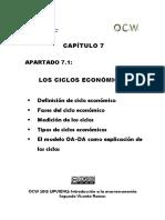 Los ciclos economicos