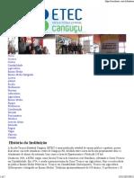 História Da ETE Canguçu