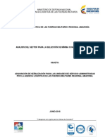 Análisis de Sector Señalización 2018