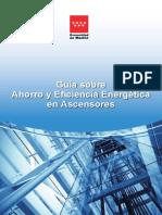 Guia Sobre Ahorro y Eficiencia Energetica en Ascensores Fenercom 2016