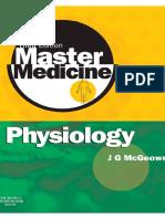 Master Medicine Physiology