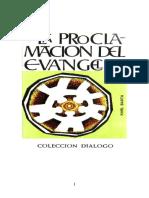 LA PROCLAMACION DEL EVANGELIO.pdf