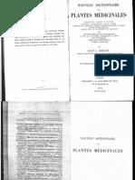 Dr Héraud - Nouveau Dictionnaire des plantes médicinales(256)