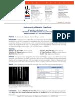 Radiopacity of Several Fiber Posts