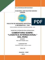 """""""Logistica Internacional"""" Dhl-perú"""
