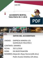 Accidente Mortal Yauliyacu