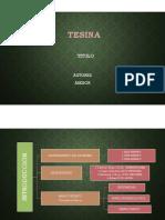 Modelo de Presentacion de Tesina